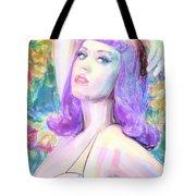Katy Perry Watercolor, Tote Bag