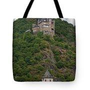 Katz Castle And Village Tote Bag