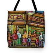 Katzs Delicatessan New York Tote Bag