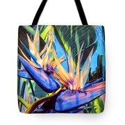Kauai Bird Of Paradise Tote Bag