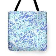 Kaua'i Ocean Leaves Tote Bag