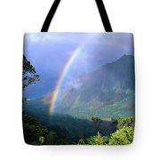 Kauai Rainbow Tote Bag