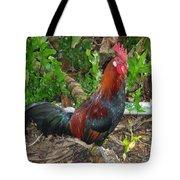 Kauai Rooster Tote Bag