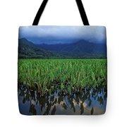 Kauai Taro Field Tote Bag