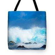 Kauai Waves Tote Bag