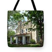 Kaw Mission, Council Grove, Kansas Tote Bag
