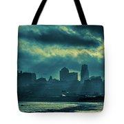 Kaw Point Kansas City Skyline Tote Bag