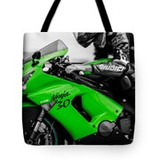 Kawasaki Ninja Zx-6r Tote Bag
