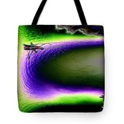 Kayak In The Cut Tote Bag