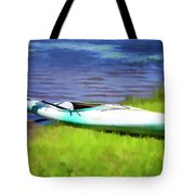 Kayak In Upstate Ny Tote Bag