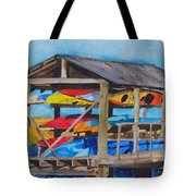 Kayak Rainbow Tote Bag