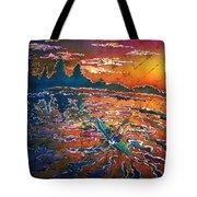 Kayak Serenity  Tote Bag