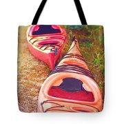 Kayak Time Tote Bag