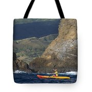 Kayaking In Molokai Tote Bag