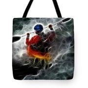 Kayaking In The Zone 3 Tote Bag