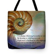 Kaypacha's Mantra 10.14.2015 Tote Bag