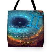Kaypacha's Mantra 6.10.2015 Tote Bag