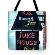 Kc Blues Tote Bag