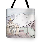 Kedarnath Jyotirling Tote Bag