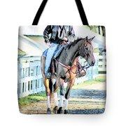 Keeneland Pony Boy Tote Bag by Tom Schmidt