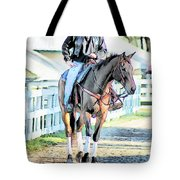 Keeneland Pony Boy Tote Bag