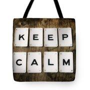 Keep Calm Tote Bag