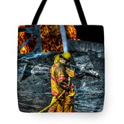 Keep Fire In Your Life No 8 Tote Bag