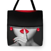 Keep Quiet Tote Bag