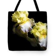 Keep Smiling Iris  Tote Bag