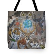 Keepers Of The Realm Tote Bag