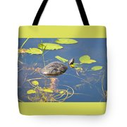 Keeping His Head Above Water Tote Bag