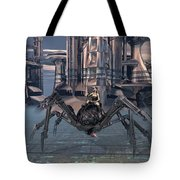 Keeping The City Safe Tote Bag
