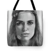 Keira Knightley Tote Bag