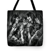 Keith And Ronnie 2 Tote Bag