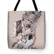 Keith Richards Tote Bag