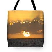 Kekaha Sunset Tote Bag