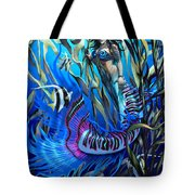 Kelp Mermaid Tote Bag