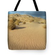 Kelso Dunes Mojave Preserve Portrait Tote Bag