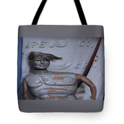 Ken Stretches Tote Bag