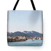 Seward Alaska Kenia Fjord Port Tote Bag