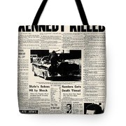 Kennedy Assassination, 1963 Tote Bag