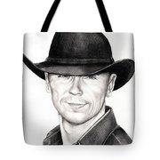 Kenny Chesney Tote Bag by Murphy Elliott