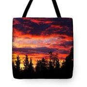 Kenosha Pass Sunrise Tote Bag