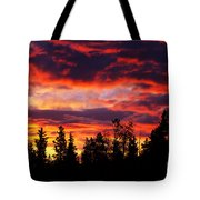 Kenosha Pass Sunrise Tote Bag