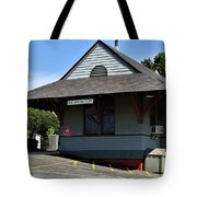 Kensington Train Station Tote Bag