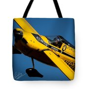 Kent Jackson In Once More, Friday Morning. 5x7 Aspect Signature Edition  Tote Bag