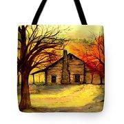 Kentucky Cabin Tote Bag