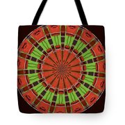 Kentucky Derby Glasses Kaleidoscope 8 Tote Bag