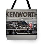 Kenworth Proudly Made In The Usa Tote Bag