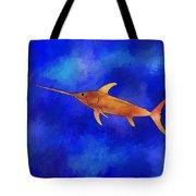 Kessonius V1 - Amazing Swordfish Tote Bag